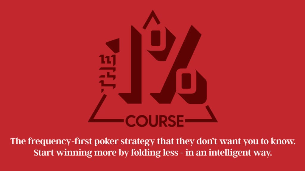 Poker Strategy With Frequencies