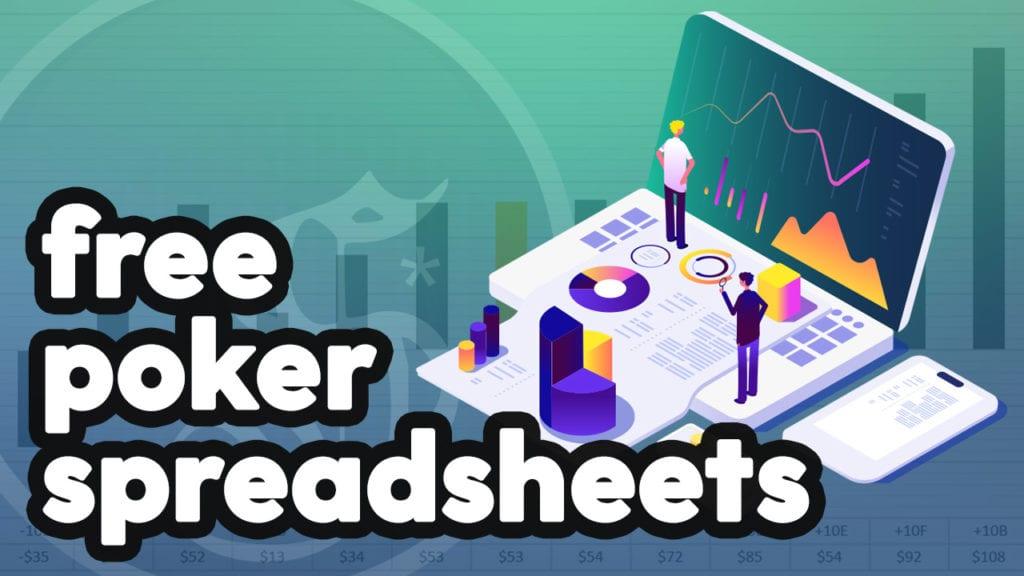 free poker sheets